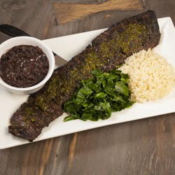 Raizes Greenpoint Grilled Skirt Steak w/Chimichurri Sauce