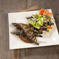 Raizes Greenpoint Dinner Grilled Whole Sardines