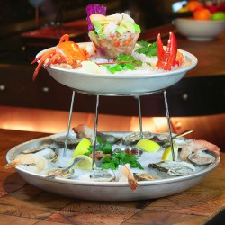 Raizes Greenpoint Cold Seafood Tower for 2